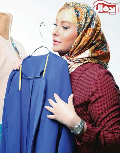 عید نوروز و خرید لباس عید با فریبا نادری