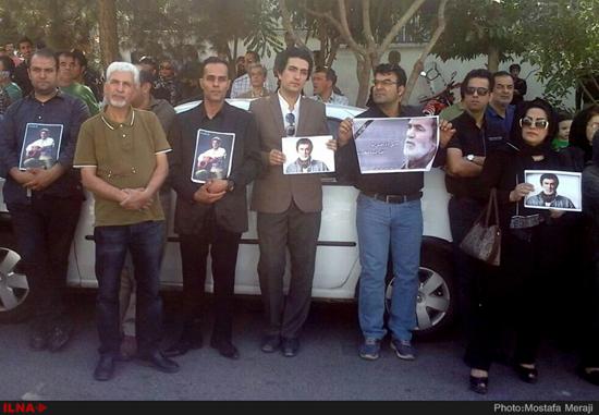اولین عکسها از یادبود «حبیب محبیان» در تهران! تصاویر