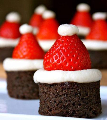 شیرینی بابانوئلی زیبا مخصوص کریسمس