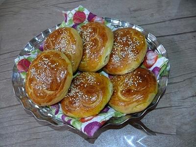 نان زنجبیلی خوشمزه و مقوی تبریزی! عکس