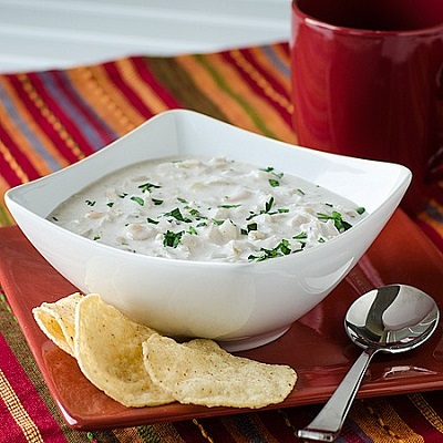 سوپ فلفل خامه ای، پیش غذای لذیذ مجلسی! عکس