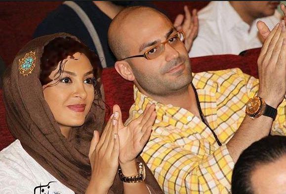 حدیثه تهرانی بازیگر زن کشورمان و همسرش تصاویر