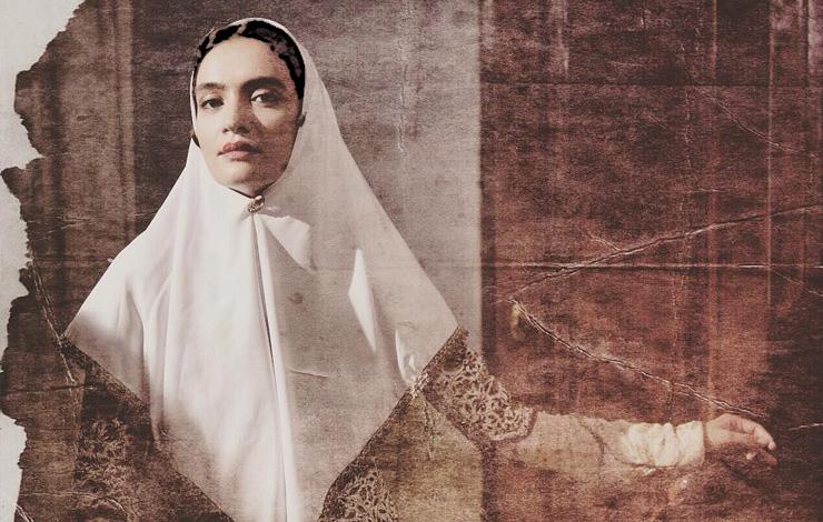 میترا حجار در لباس قاجاری! عکس
