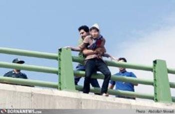 تصویری از خودکشی نافرجام دختر 18 ساله کرمانشاهی