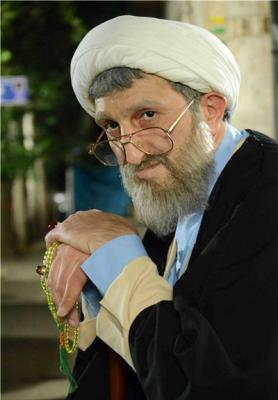 یوسف صیادی در نقش روحانی عکس