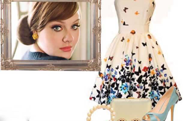 ستکردن لباس به سبک آدل محبوبترین خواننده زن انگلیسی