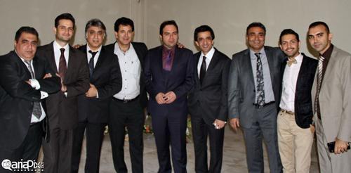 عکس های جمعی از بازیگران و هنرمندان در یک مراسم