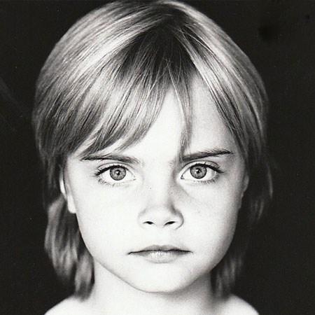 مدل های مشهور زن جهان، در کودکی چگونه بوده اند؟!(1) تصاویر