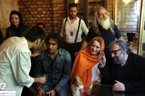 عکس های بهنوش طباطبایی در رونمایی از رمان جدید مسعود کیمیایی