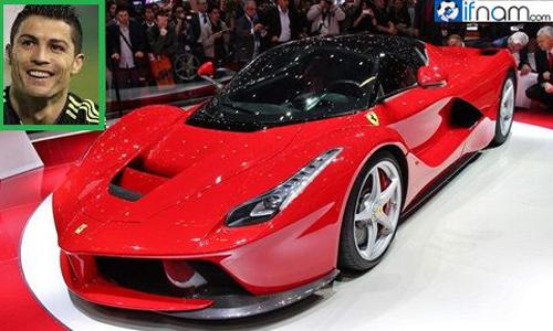 گرانترین ماشین جهان متعلق به این بازیکن است