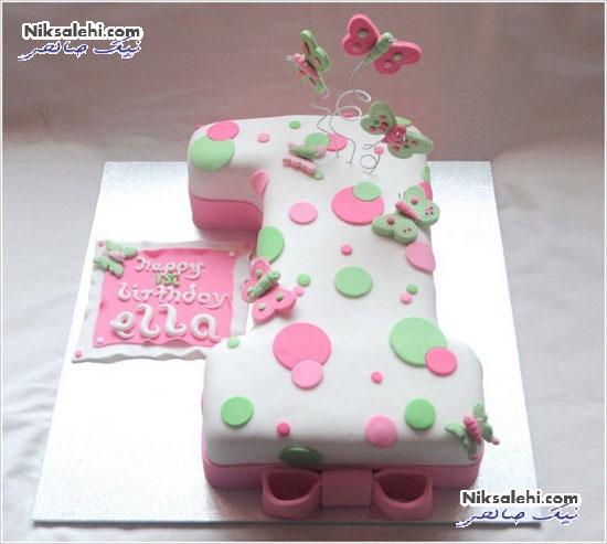 ایده های زیبای کیک تولد یک سالگی دخترکوچولوها
