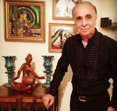 سعید امیر سلیمانی : مریض هم که باشم در عزاداریها شرکت می کنم! تصاویر