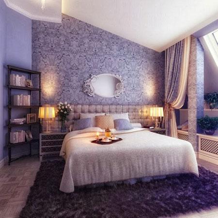 دکوراسیون زیبای اتاق خواب های لوکس سلطنتی  تصاویر
