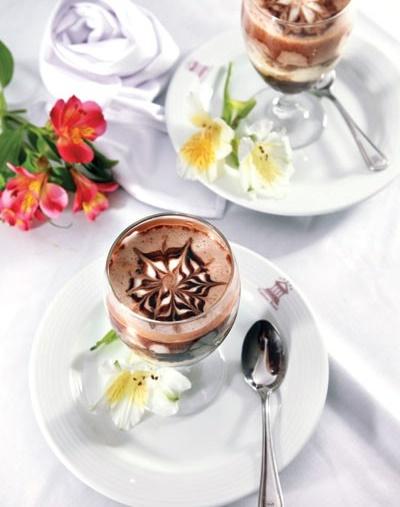 این دسر کافه شکلات سر درد را خوب می کند