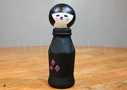ساخت کاردستی عروسک ژاپنی  تصاویر