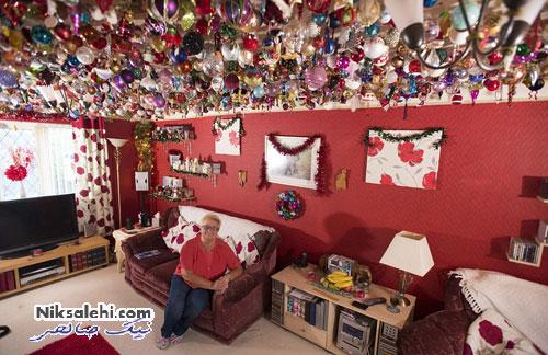 تزئینات خلاقانه یک مادربزرگ برای شادی نوه هایش