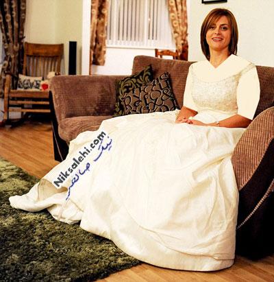 ازدواج عروس دارای اضافه وزن پس از 12 سال نامزدی