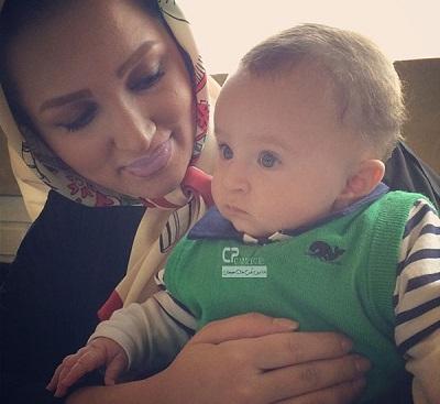 عکسهای زیبای روناک یونسی در کنار پسرش مهرسام!