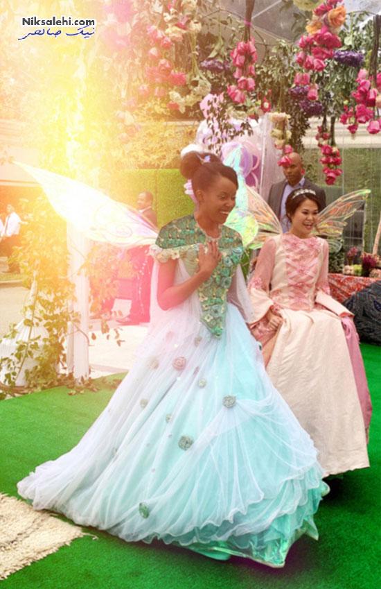 تصاویر تازه منتشر شده از جشن تولد باشکوه دختر بیانسه