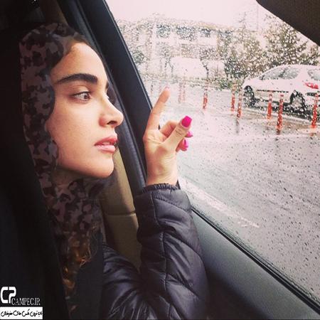 جدید ترین عکسهای الهه حصاری بازیگر جوان سینما تصاویر