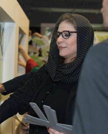 چهره متفاوت سحر دولتشاهی با عینک طبی تصاویر