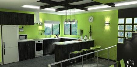 جذابیت رنگ سبز را در دکوراسیون منزل خود تجربه کنید تصاویر