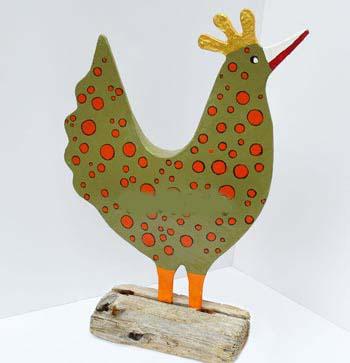 آموزش ساخت عروسک مرغ بسیار ساده فقط با مقوا تصاویر