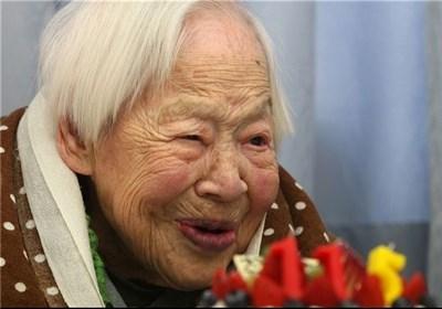 جشن تولد مسن ترین فرد جهان عکس