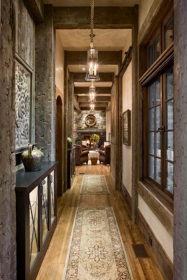 دکوراسیون ورودی خانه را مانند یک تونل زیبا تزیین کنید