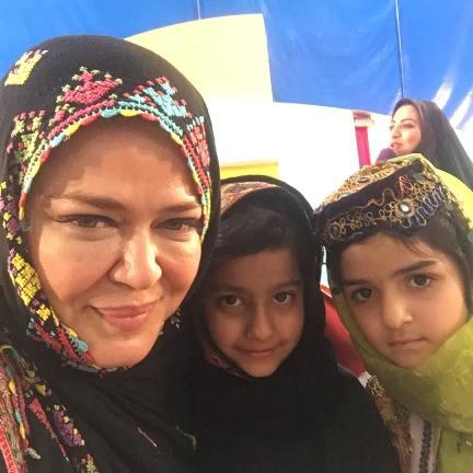 چهره متفاوت بهاره رهنما با لباس محلی مردم سیستان و بلوچستان