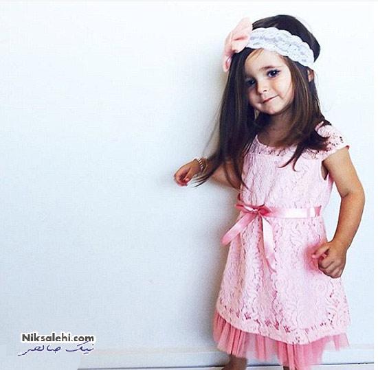 این دختر کوچولو ستاره ی مد در اینستاگرام است