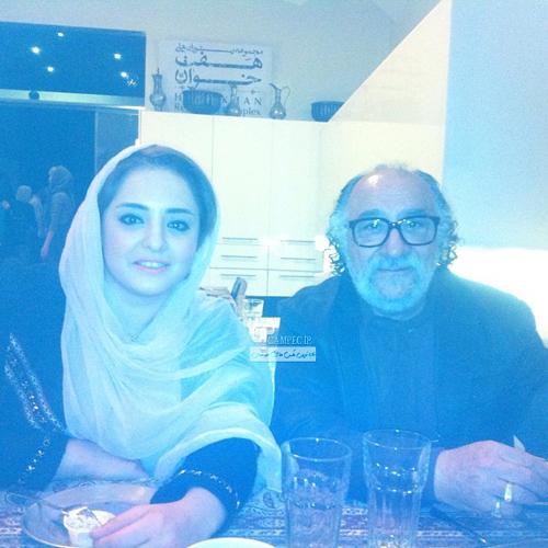 نرگس محمدی و داریوش ارجمند در شیراز