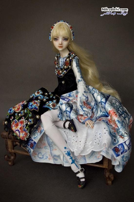 عروسک های زیبایی که گویی روح در آنها جریان دارد