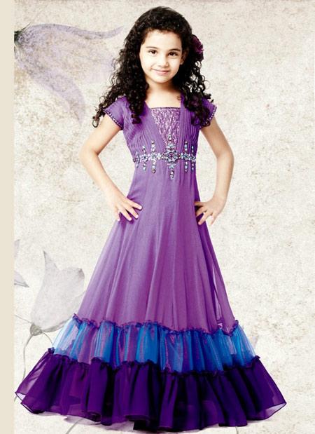 مدل لباس دختربچه های هندی  تصاویر