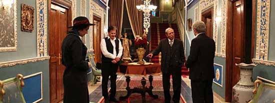دکوراسیون خانه بزرگ آقا در سریال شهرزاد تصاویر