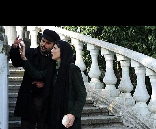 همبازی شدن لیلا حاتمی و همسرش!