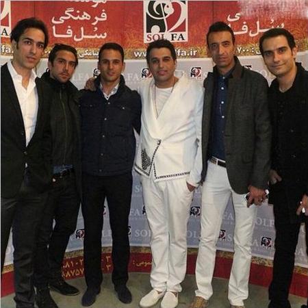 «آرش برهانی» در کنسرت «حمید عسکری» عکس