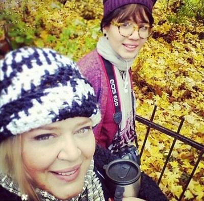 بهاره رهنما و دخترش در استکهلم! عکس