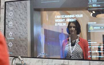 آیینه هوشمندی که بیماری ها را در تشخیص می دهد