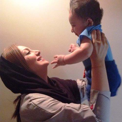 جدید شیلا خداداد و پسرش سامیار