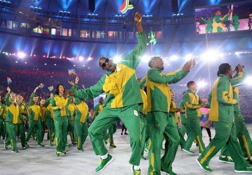 لباس افریقای جنوبی در المپیک ریو 2016