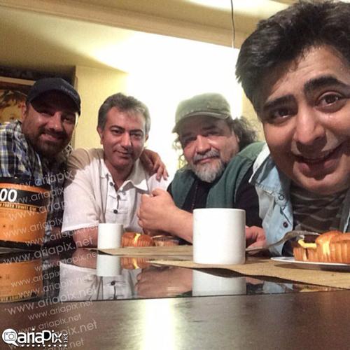 پشت صحنه سری جدید مجموعه شام ایرانی