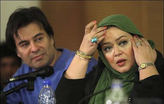 درام عاشقانه بهاره رهنما و همسرش  تصاویر