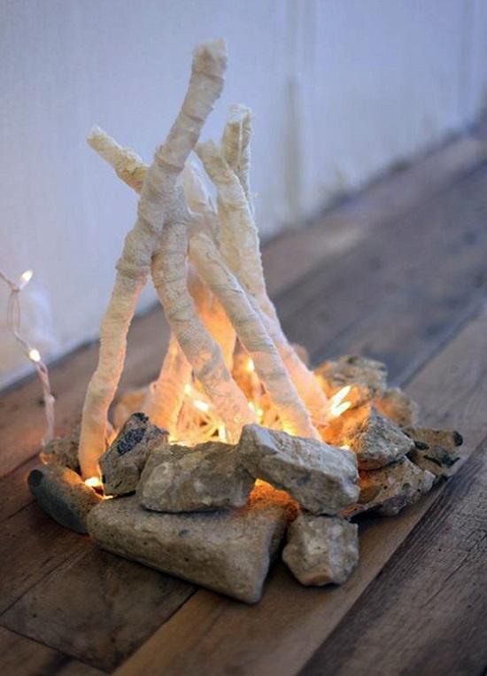 برای خود کاردستی آتش جادویی درست کنید / آموزش ساخت