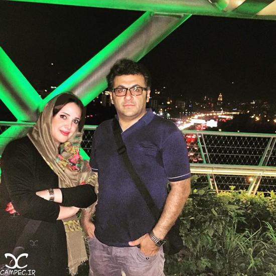 عکس های شهرام عبدلی بازیگر سینما و تلویزیون با همسر و فرزندش