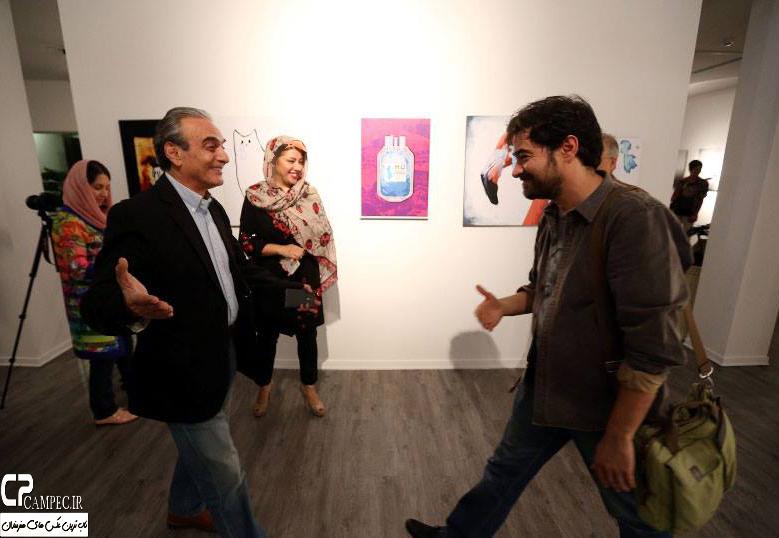 عکس های شهاب حسینی و همسرش در گالری آریانا