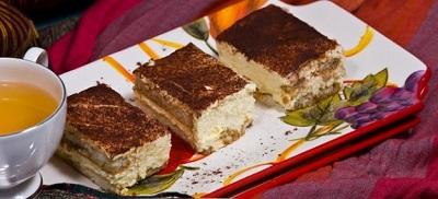 تیرامیسوی لذیذ بدون پنیر خامه ای! عکس