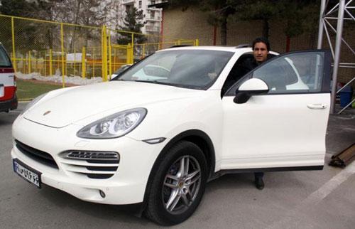 ماشین های لوکس فوتبالیست های ایرانی  تصاویر