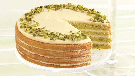 کیک مقوی بسیار لذیذ پسته و مرکبات