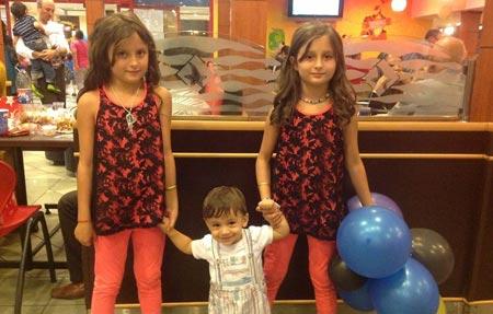عکسهای جدید سارا و نیکا فرقانی دوقلوهای سریال پایتخت!